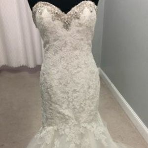 Mori lee gown size 8